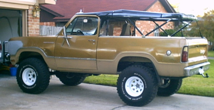 1975 Dodge Ramcharger 4x4 By Danny Broussard image 1.