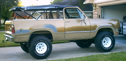 1975 Dodge Ramcharger 4x4 By Danny Broussard image 2.