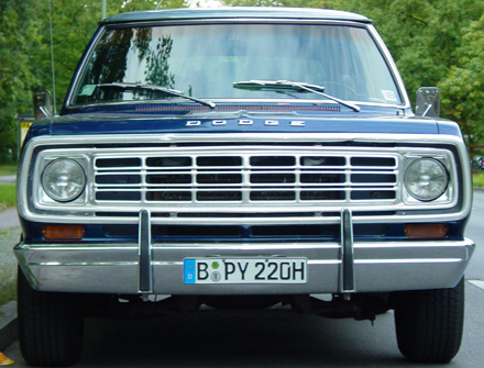 1975 Dodge Ramcharger 4x2 By Jens Biastoch.