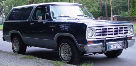 1975 Dodge Ramcharger 4x2 By Jens Biastoch image 2.
