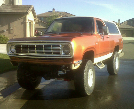 1975 Dodge Ramcharger By Carlos Montoya image 1.