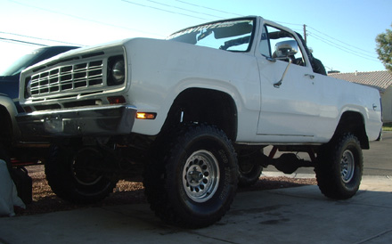 1975 Dodge Ramcharger 4x4 By Hammer J image 1.