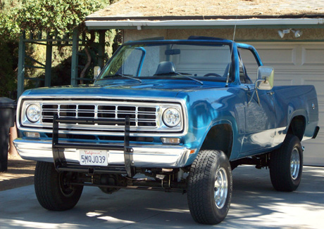 1975 Dodge Ramcharger 4x4 By Jim Fry image 1.