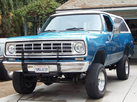 1975 Dodge Ramcharger 4x4 By Jim Fry image 2.