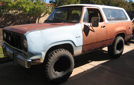 1975 Dodge Ramcharger 4x4 By Mike Schoppe image 1.
