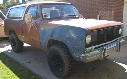 1975 Dodge Ramcharger 4x4 By Mike Schoppe image 2.