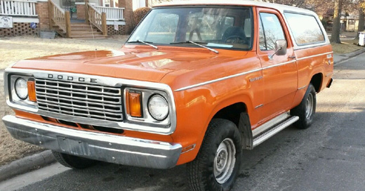1978 Dodge Ramcharger By Shawn Hart image 1