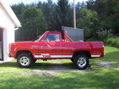 1978 Dodge Ramcharger 4x4 By Bob & Pat Donnelly image 1.