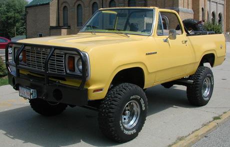 1978 Dodge Ramcharger 4x4 By Bob Morris image 1.