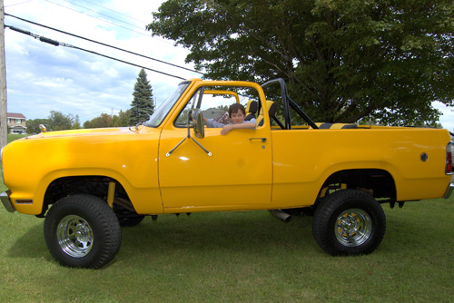 1978 Dodge Ram Charger By Michel image 1.