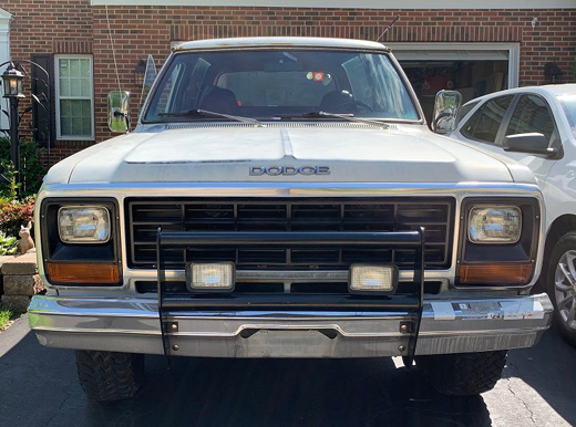 1984 Dodge Ramcharger By Andre Thomas