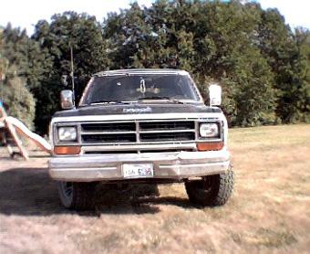 1987 Dodge Ramcharger LE150 By John Nugent image 1.