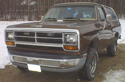 1987 Dodge Ramcharger 4x4 By Jake Carter image 1.