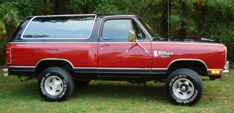 1987 Dodge Ramcharger 4x4 By James Weaver image 1.