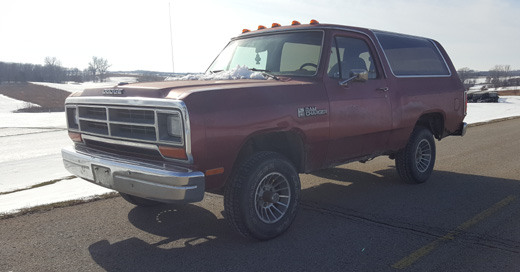 1987 Dodge Ramcharger By Chris image 1.