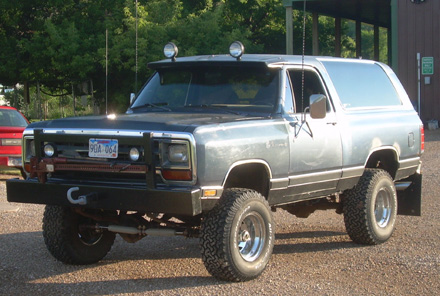 1987 Dodge Ramcharger 4x4 By Cody Kloeckl image 1.