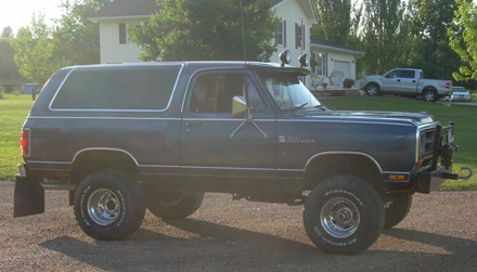 1987 Dodge Ramcharger 4x4 By Cody Kloeckl image 2.