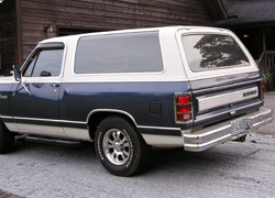 1987 Dodge Ramcharger 4x2 By Daniel Chappell image 3.