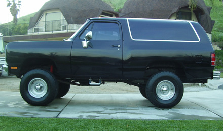 1987 Dodge Ramcharger 4x4 By Danny Munoz image 1.