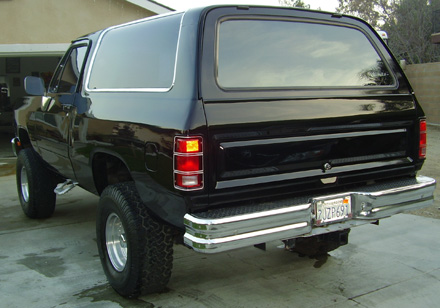 1987 Dodge Ramcharger 4x4 By Danny Munoz image 2.