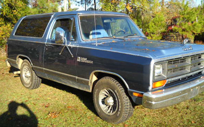 1987 Dodge Ramcharger By Ed Fulmer image 2.