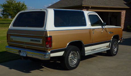 1987 Dodge Ramcharger By Gary Dutton image 2.