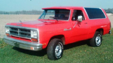 1987 Dodge Ramcharger 4x4 By Jeff Ciprich image 1.