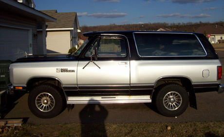 1987 Dodge Ramcharger 4x4 By Jeff D. image 1.