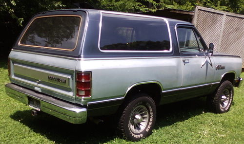1987 Dodge Ramcharger By Jim Lowery image 2.