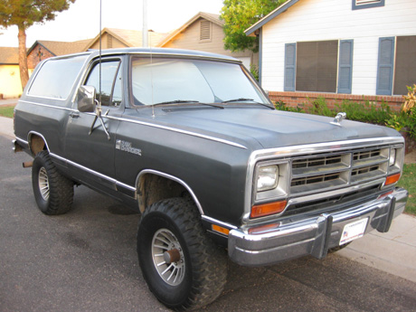 1987 Dodge Ramcharger 4x4 By Mike Herod image 1.