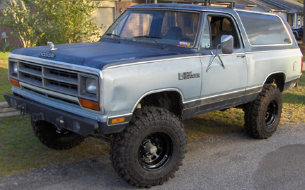 1987 Dodge Ramcharger 4x4 By Nathan image 1.