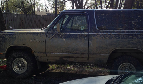 1987 Dodge Ramcharger 4x4 By Nick Ward image 3.