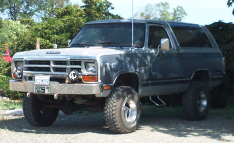 1987 Dodge Ramcharger By Russell Davies image 1.