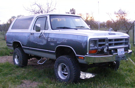 1987 Dodge Ramcharger By Russell Davies image 2.