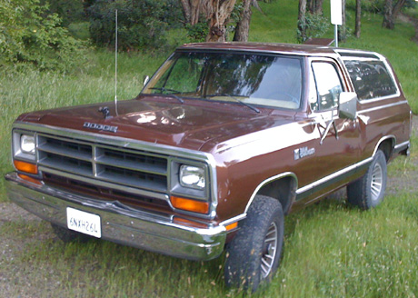 1987 Dodge Ramcharger 4x4 By Sion Pascal image 1.
