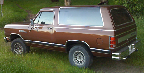 1987 Dodge Ramcharger 4x4 By Sion Pascal image 2.