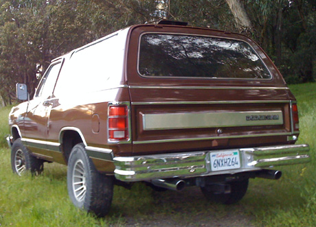 1987 Dodge Ramcharger 4x4 By Sion Pascal image 3.