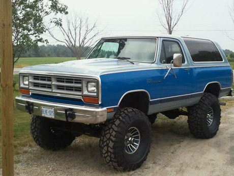 1987 Dodge Ramcharger 4x4 By Steve C. image 1.