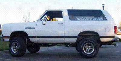1988 Dodge Ramcharger 4x4 By Marshall Brown image 1.