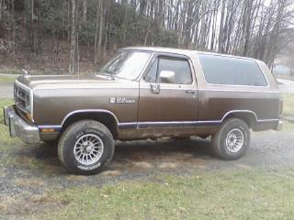 1988 Dodge Ramcharger By Crystal Kennedy image 1.