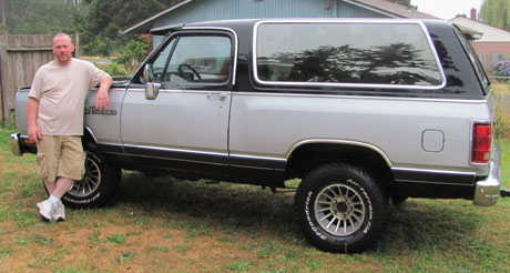 1988 Dodge Ramcharger LE 150 By John Bowlsby image 1.