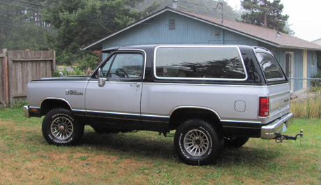 1988 Dodge Ramcharger LE 150 By John Bowlsby image 3.