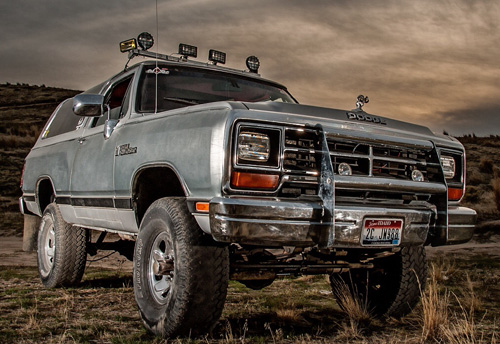 1988 Dodge Ram Charger By Kris Young image 1.