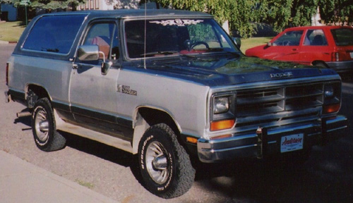 1988 Dodge Ramcharger 4x4 By Leif Jensen image 1.