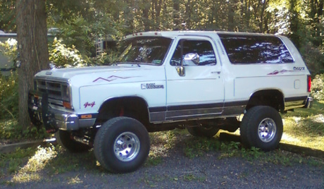 1988 Dodge Ramcharger by Mike Heffner image 2.
