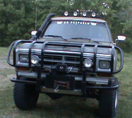 1988 Dodge Ramcharger 4x4 By Mark Thigpen image 1.