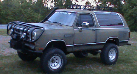 1988 Dodge Ramcharger 4x4 By Mark Thigpen image 2.