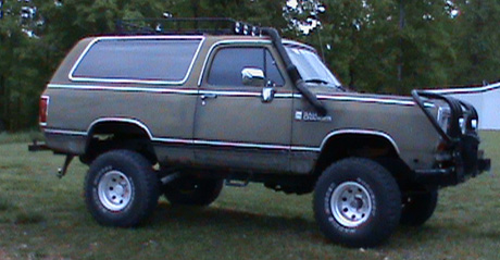 1988 Dodge Ramcharger 4x4 By Mark Thigpen image 3.