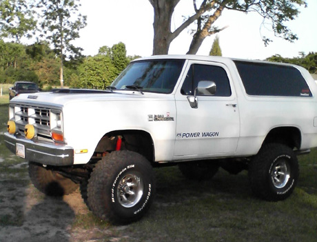 1988 Dodge Ramcharger 4x4 By Oscar Dozier image 1.