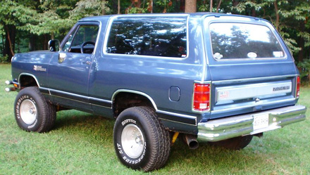 1988 Dodge Ramcharger 4x4 By Robert Brown image 2.